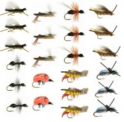 23 Piece Terrestrial Collection + Fly Box