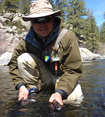 David Chao Fly Fishing the South Platte River