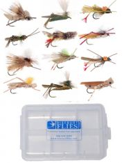 12 Piece Hopper Collection + Fly Box
