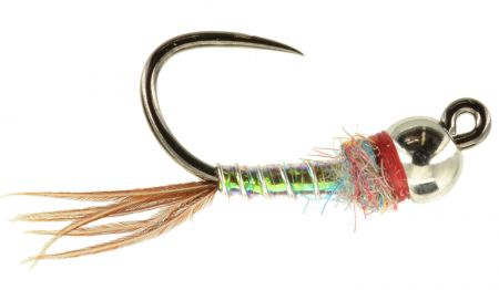 Jiggy Rainbow Warrior Tungsten Bead