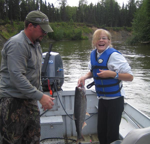 Silver Salmon caught on the Little Susitna River