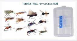 12 Piece Terrestrial Collection + Fly Box