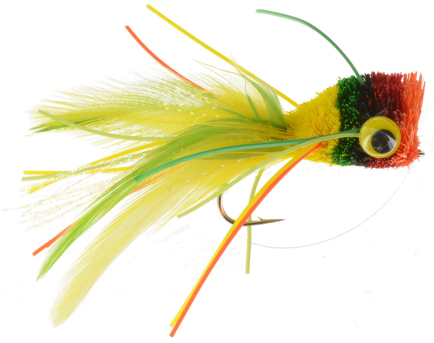 Bass poppers top fly fishing flies gear at wholesale for Cheap fly fishing flies