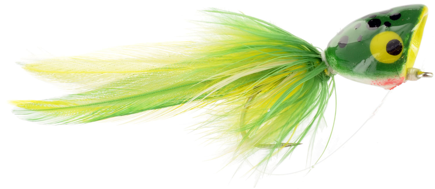Bass poppers top fly fishing flies gear at wholesale for Fishing poppers for bass