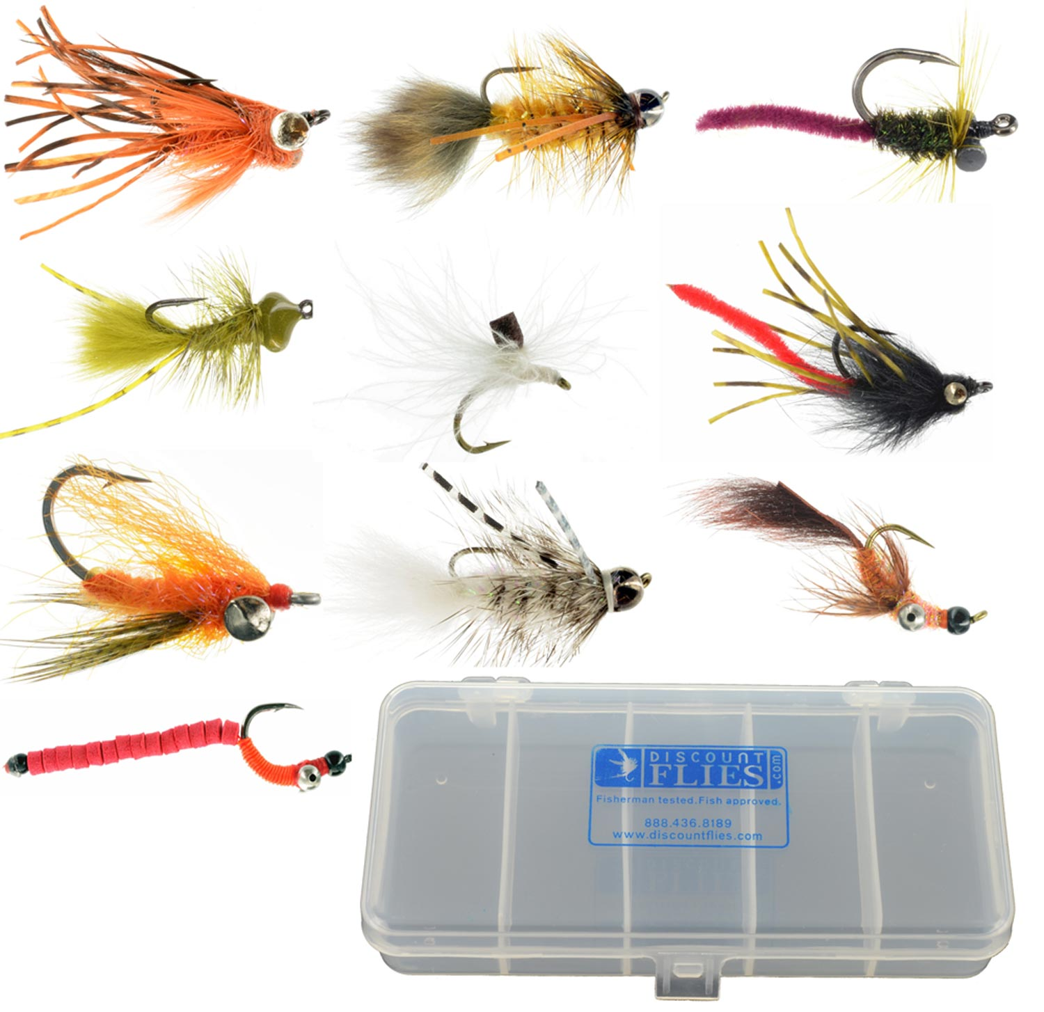 Wholesale Fly Fishing Flies: Packaged Fly Deals : Top Fly Fishing Flies & Gear At