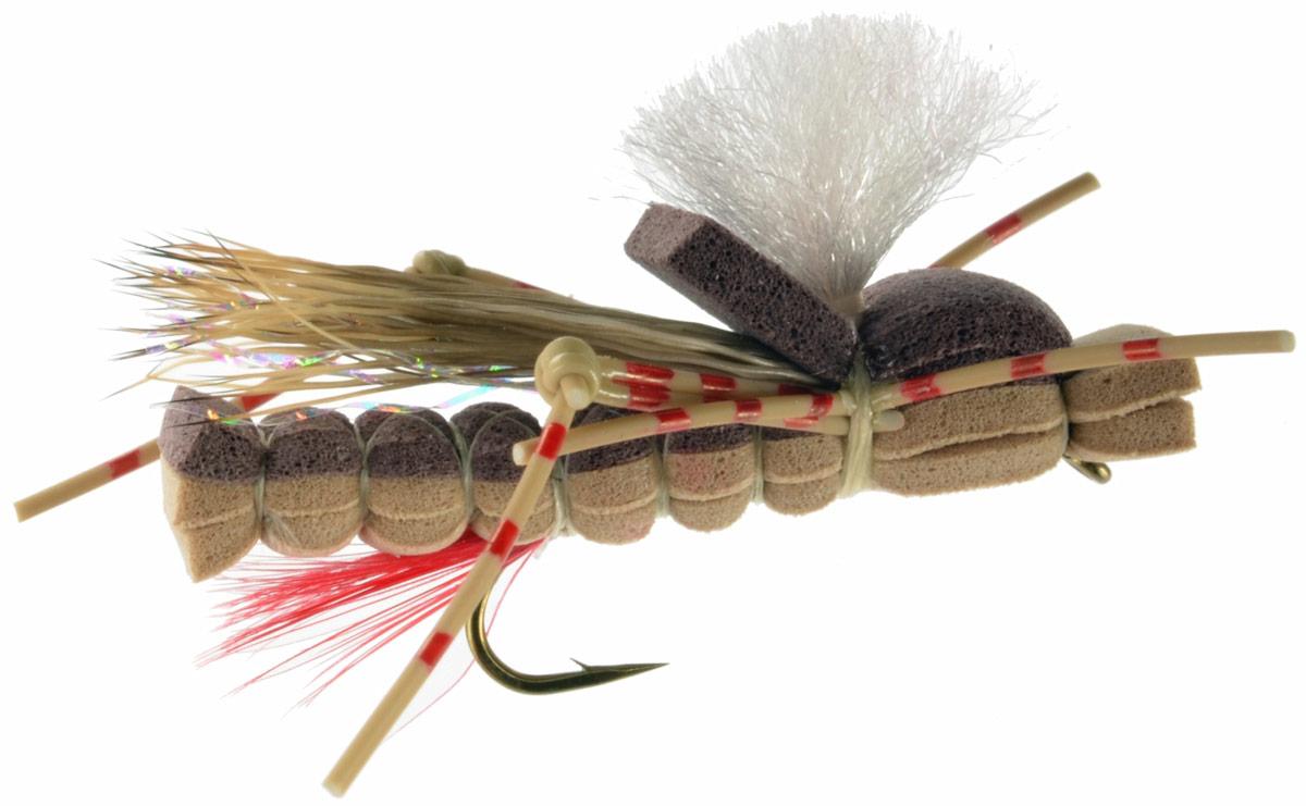 Foam Sandwich Hopper - Tan | Fly Fishing Flies For Less ...