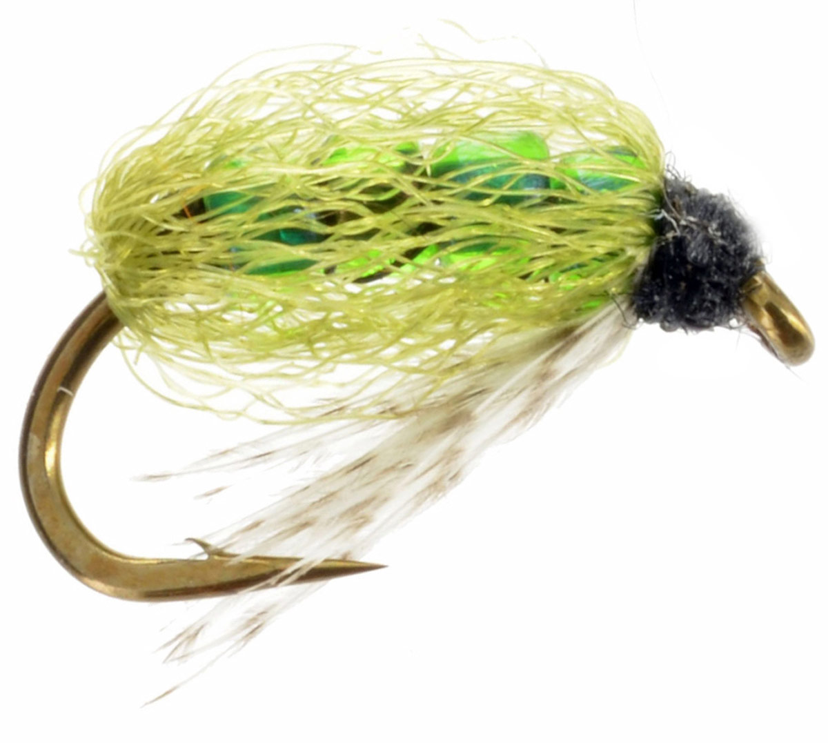 Four Bead Caddis Olive | Fly Fishing Flies For Less ...