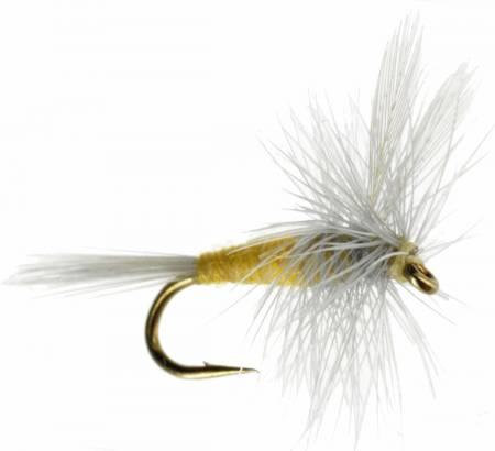 One Dozen - Sulphur Dry Fly Sparkle Dun 12