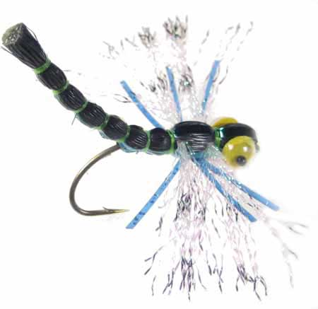 Crystal damsel dragonfly top fly fishing flies gear at for Cheap fly fishing flies